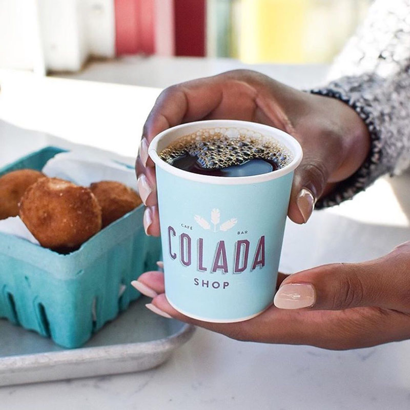 @itsmaryelizabeth - Fall coffee and menu items from Colada Shop - Cuban cafe on 14th Street in Washington, DC