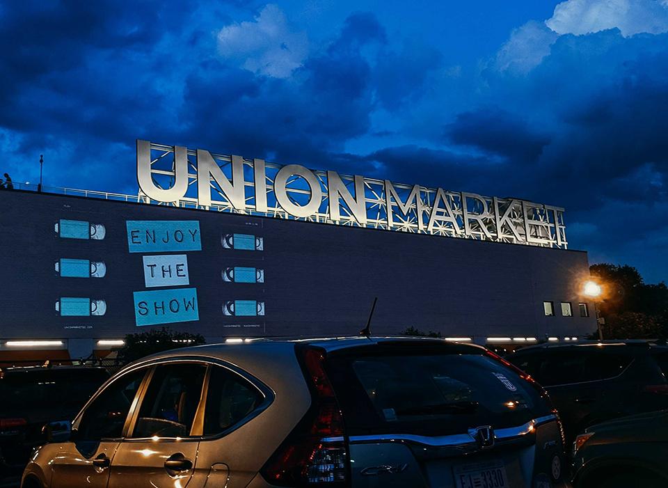 Union Market Drive-In-Film Washington, DC