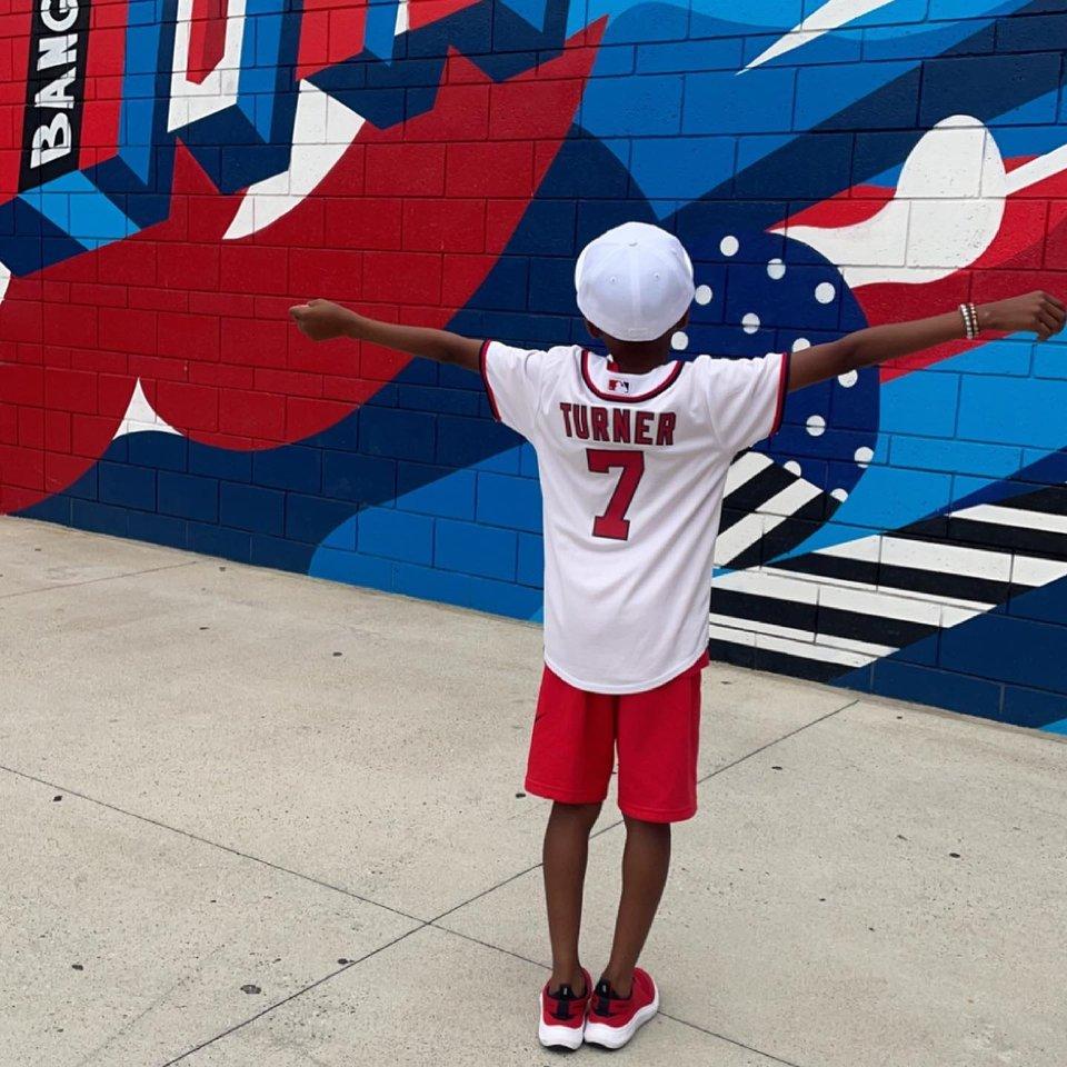 @msidohairporter - Kleiner Junge beim Spiel der Washington Nationals