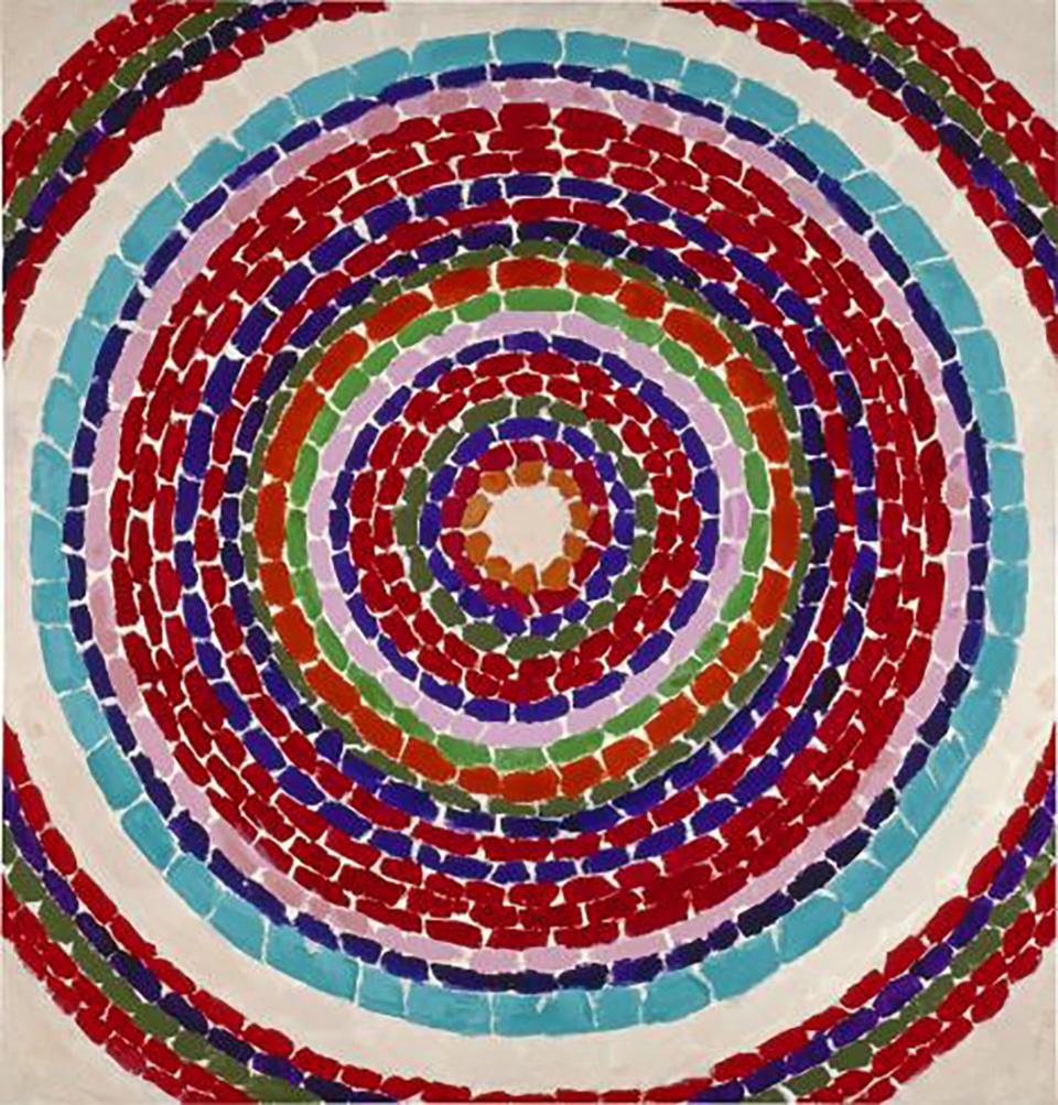 Die Phillips-Sammlung (von: Alma Thomas, Pansies in Washington, 1969)