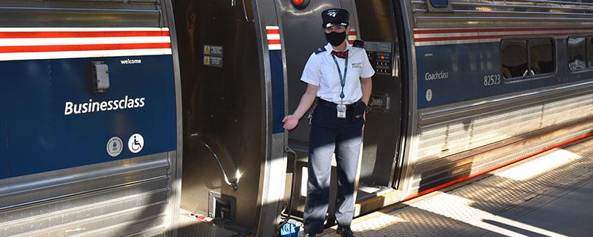 Amtrak-Zug
