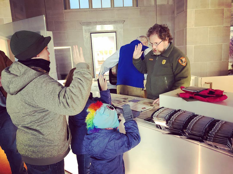 @adventure_chill - National Park Service Junior Ranger program at the White House Visitor Center - Free museum experiences in Washington, DC