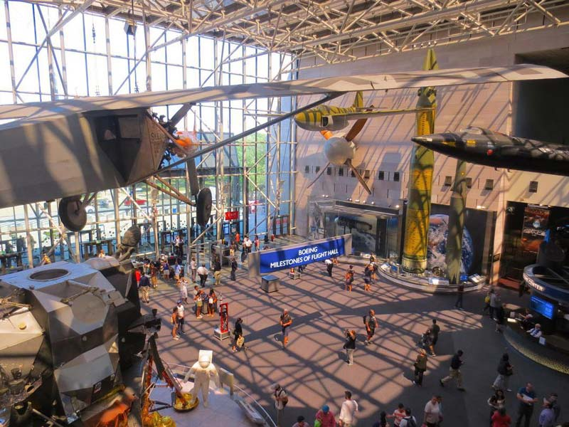 @adventuresarewaiting - Boeing Milestones of Flight Hall at National Air and Space Museum - Free Smithsonian Museum in Washington, DC