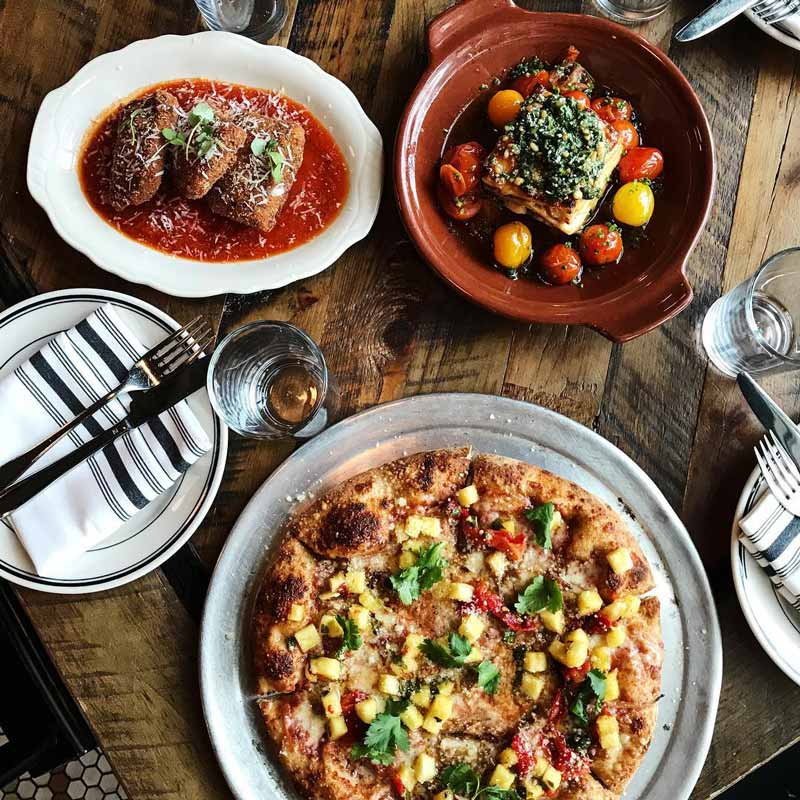 @allpurposeshaw - Pizza dinner at All-Purpose in Shaw - Great restaurants in Washington, DC