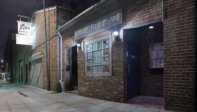 Blues Alley - Historic Jazz Club in Georgetown - Washington, DC