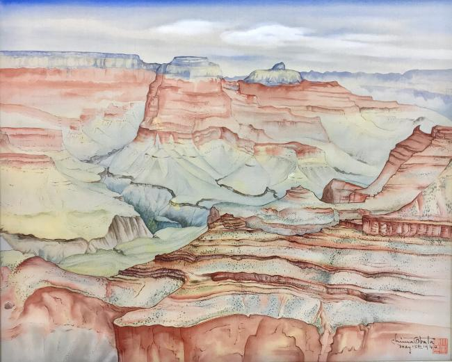 'Chiura Obata: American Modern' exhibit at the Smithsonian American Art Museum in DC