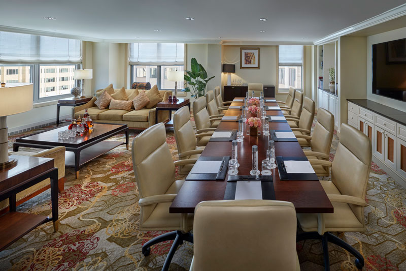 The Club Room at the Mandarin Oriental, Washington, DC - The best small meeting and event spaces in DC
