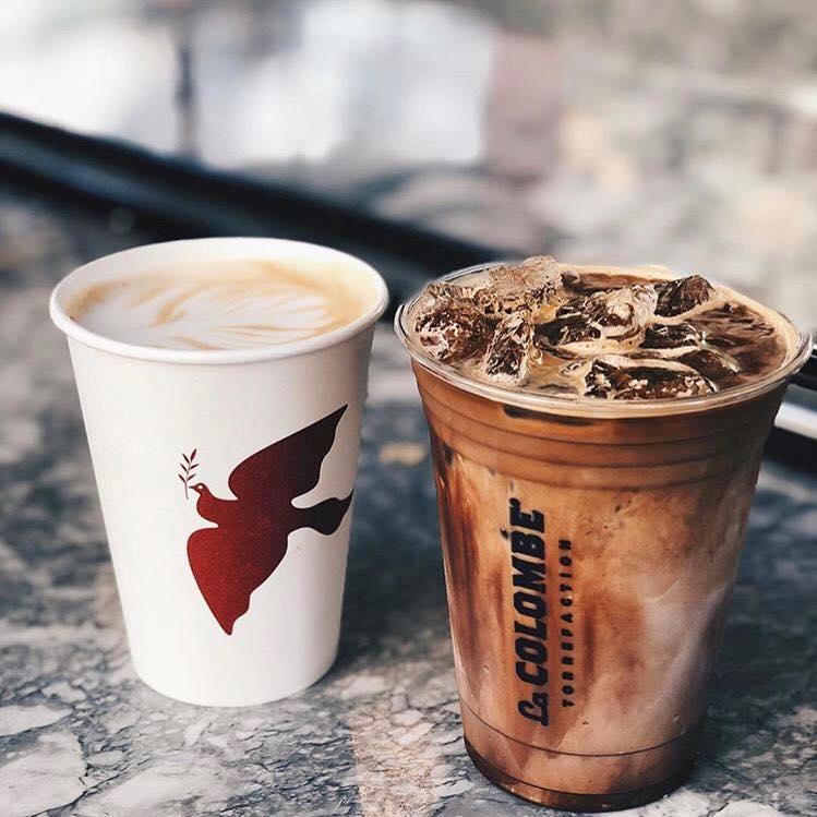 Kaffee von La Colombe Coffee Roasters - Wo gibt es Kaffee und Frühstück in der Nähe des Walter E. Washington Convention Center in Washington, DC