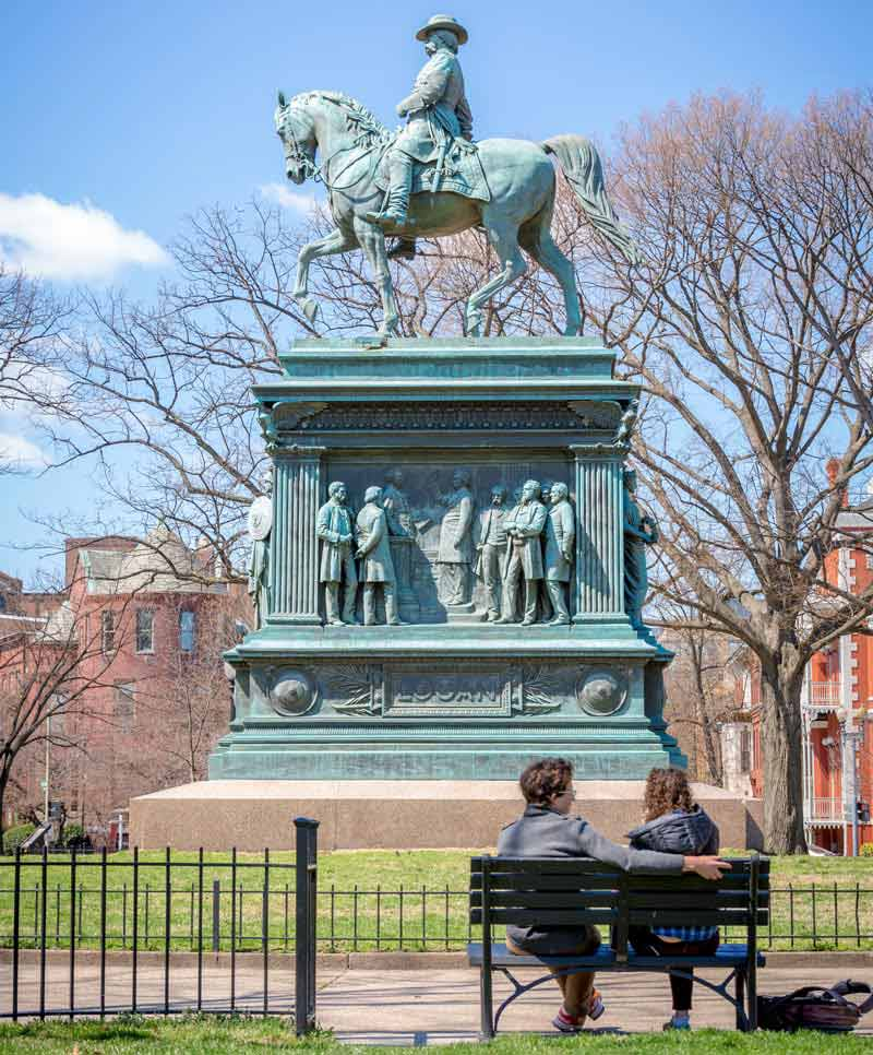 Logan Circle - Romantic Spots in Washington, DC