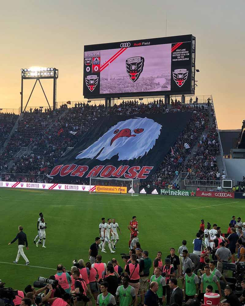 @dc_and_me - D.C. United game at Audi Field - Sporting events in Washington, DC