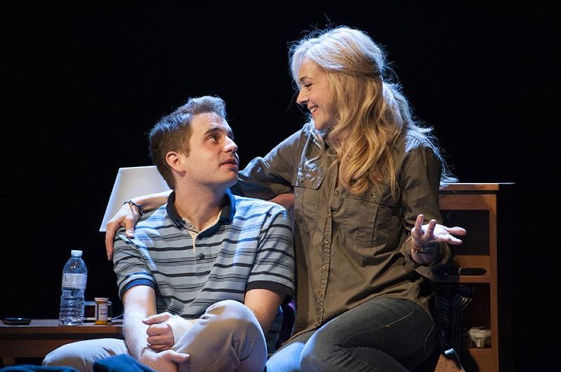 """Dear Evan Hansen"" with actors Ben Platt and Rachel Bay Jones at Arena Stage in Washington, DC"