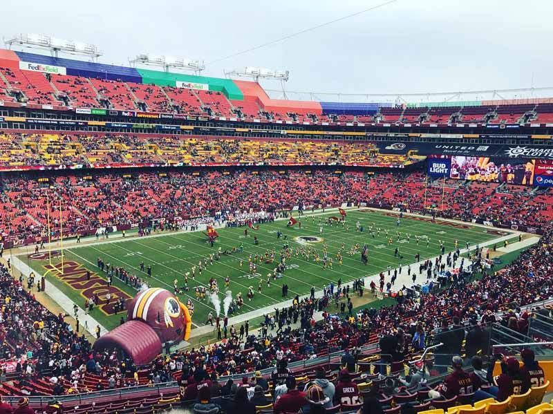 @deiwalsh - Washington Redskins football game at FedExField - Reasons to attend a Redskins game this fall in DC