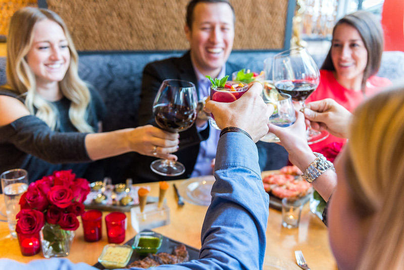 Diners Drinking at Jaleo - Jose Andrés Restaurant - Places to Eat and Drink in Washington, DC