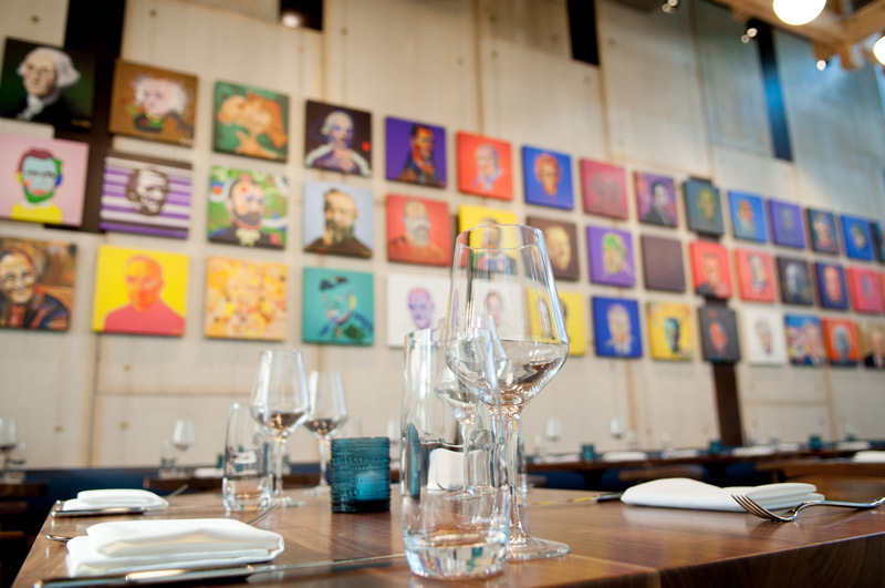 Speisesaal im Ana Restaurant at District Winery - Weingut, Restaurant und privater Veranstaltungsort in Washington, DC