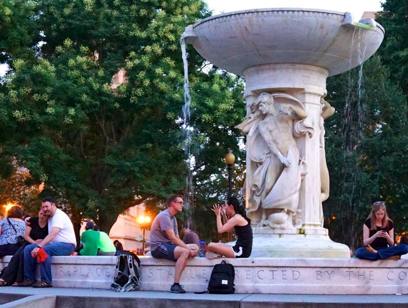 Dupont Circle Fountain - Washington, DC