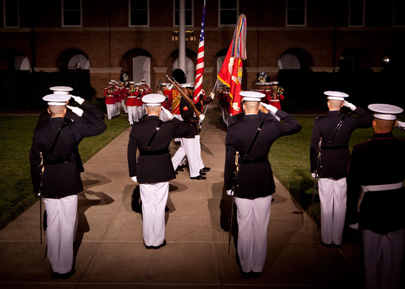 Evening Parade at Barracks Row - Things to See in Washington, DC