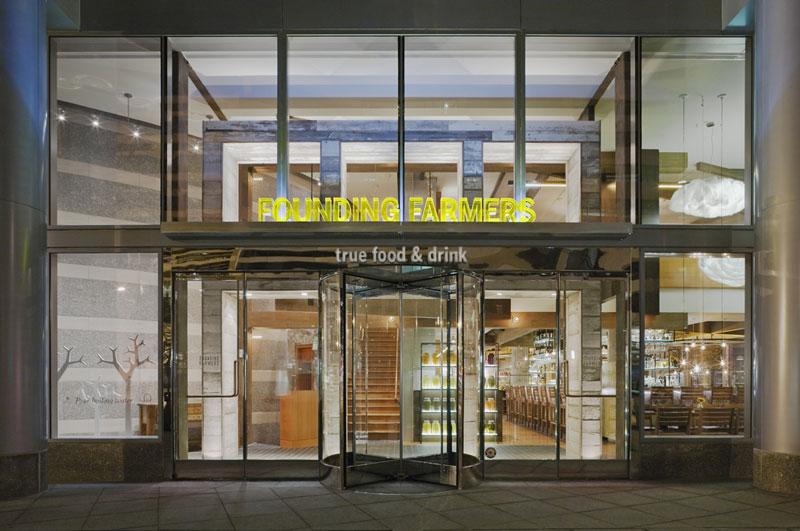 Fundación del restaurante Farmers en Washington, DC - Restaurante con certificación LEED en Washington, DC