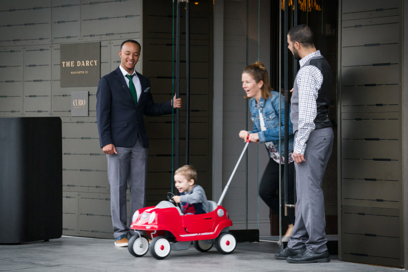 Family-friendly program at The Darcy, Curio Collection by Hilton - Kid-friendly hotels in Washington, DC