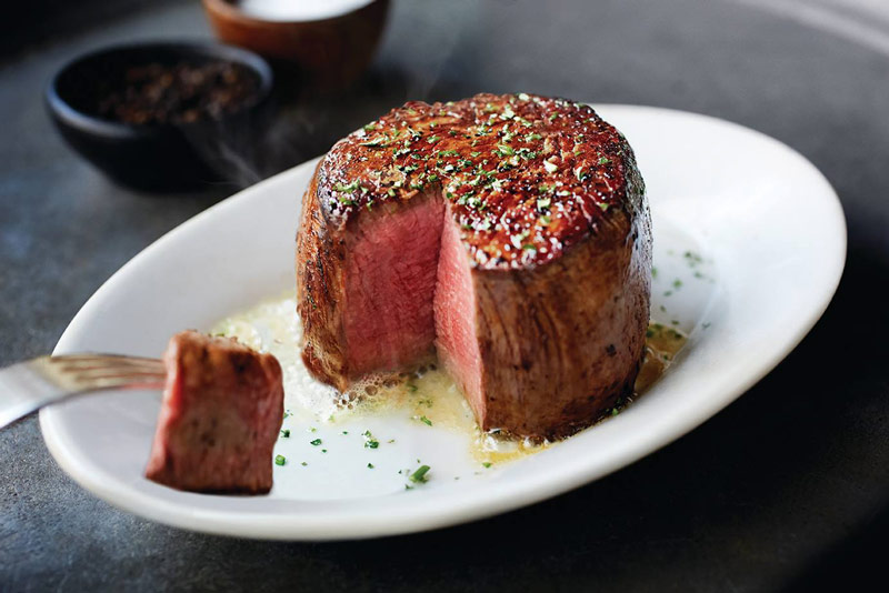 Filet mignon at Ruth's Chris Steak House Arlington - Where to eat in Arlington, Virginia