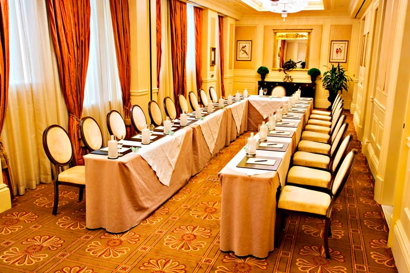 Gallatin meeting room at The Jefferson Hotel - Intimate meeting and event space in Washington, DC