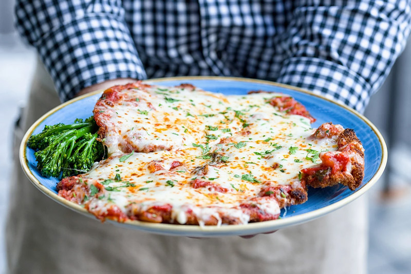 Giant Chicken Parmesan at Casolare by Michael Schlow - Places to Eat in Washington, DC