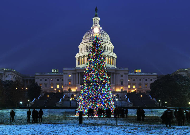 Christmas Decoratons Out In Washington Dc Area 2021