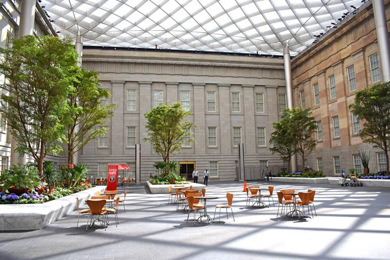 Kogod Courtyard - Einzigartiger Tagungsort in Washington, DC