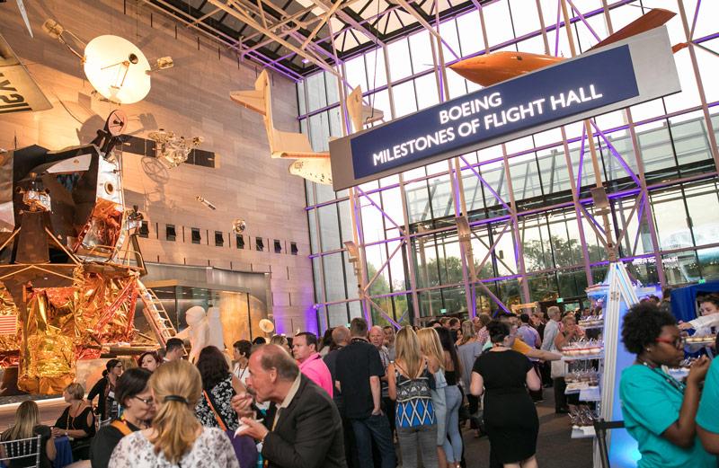 Abendveranstaltung im National Air and Space Museum - Einzigartiger Tagungsort in Washington, DC