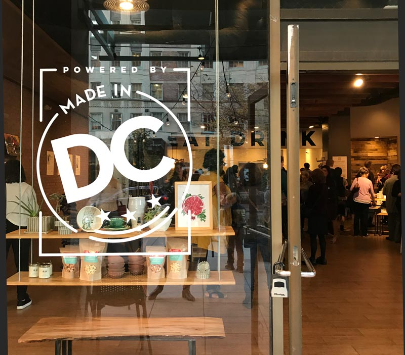 Shop Made in DC - Dupont Circle local boutique and cafe selling made in Washington, DC products