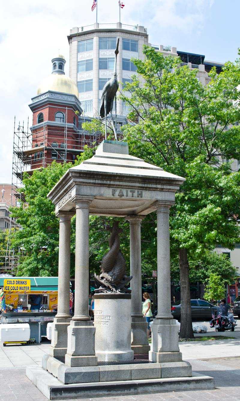 Victorian Temperance Fountain in Penn Quarter - Washington, DC