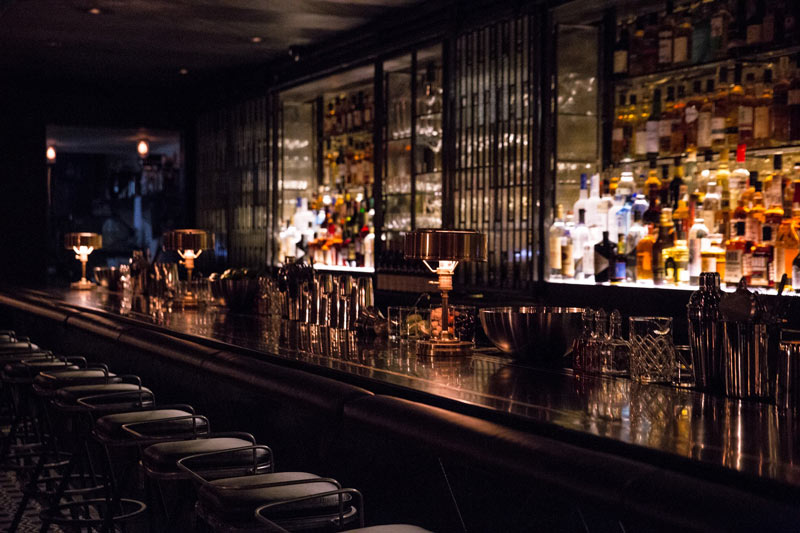 1920s Prohibition-inspired bar at Denson Liquor Bar in Penn Quarter - The best speakeasies in Washington, DC