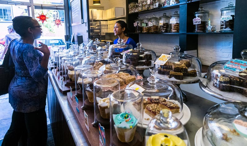 Baked and Wired bakery and cupcake shop in Georgetown - The best things to do in Washington, DC's Georgetown neighborhood