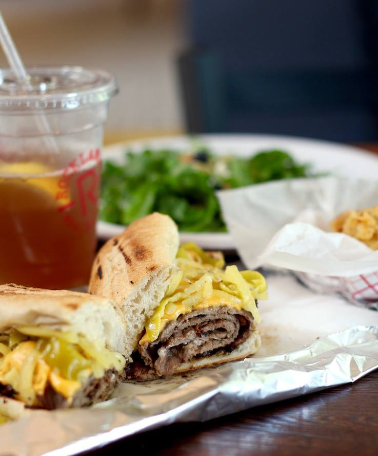 Pit beef sandwich at Rocklands Barbeque and Grilling Company - Budget-friendly restaurants in DC