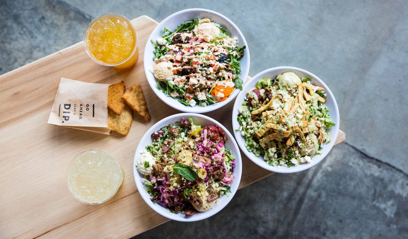 Mediterranean bowls from CAVA - Fast-casual and budget-friendly places to eat in Washington, DC