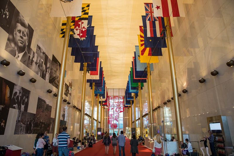 John F. Kennedy Center for the Performing Arts Hall of States - Free arts and culture attraction in Washington, DC