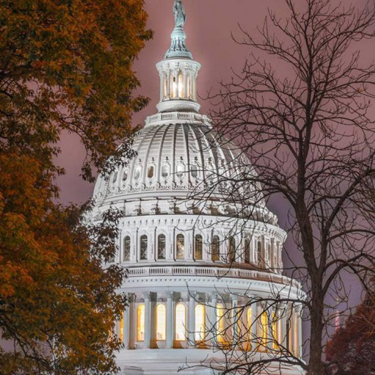 @506thcurrahee - United States Capitol Dome at night - Fall in Washington, DC