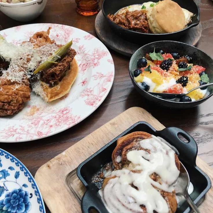 @ aejohnson9 - Brunch en el restaurante Succotash - Lugares para comer en Washington, DC