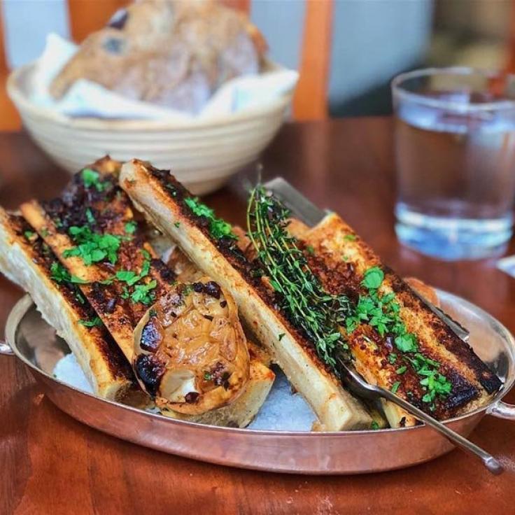 @alicefromva - Médula ósea asada a la madera de Blue Duck Tavern - Restaurante en Washington, DC
