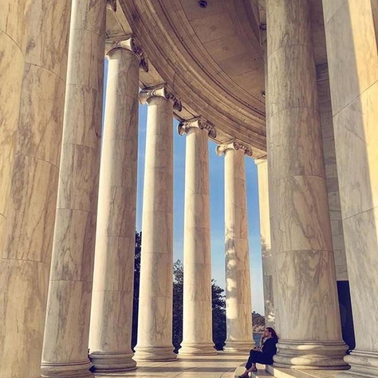 @anna_in_dc - Monumento a Thomas Jefferson en el National Mall - Monumentos en Washington, DC