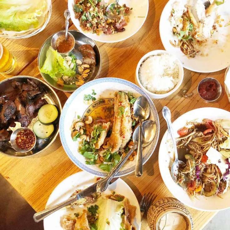 @charlesschang - Dishes at Thip Khao in Columbia Heights - Places to eat in Columbia Heights neighborhood