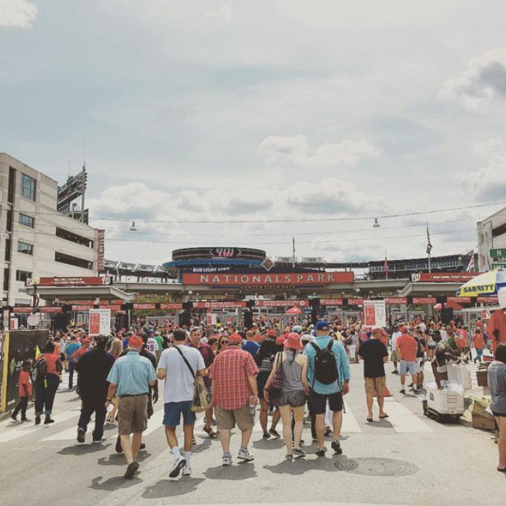 @debrahoyt - Summer daytime baseball game at Nationals Park - Things to do in Washington, DC