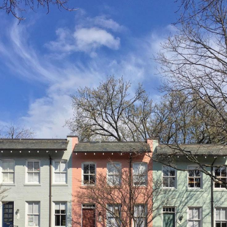 @jennrightmeow - Rowhouses in Georgetown - Neighborhoods in Washington, DC