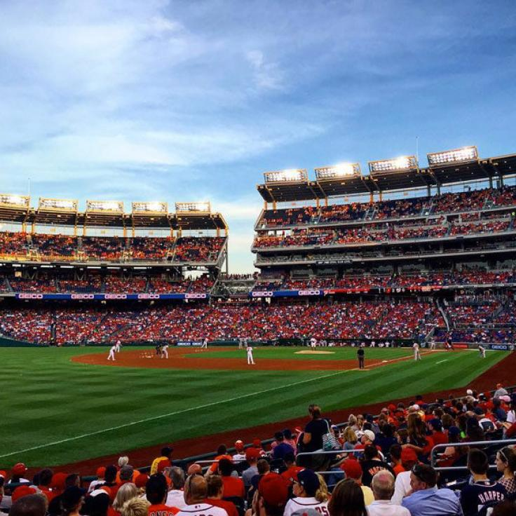 @kalsoom82 - Washington Nationals Baseball Game at Nationals Park - Washington, DC
