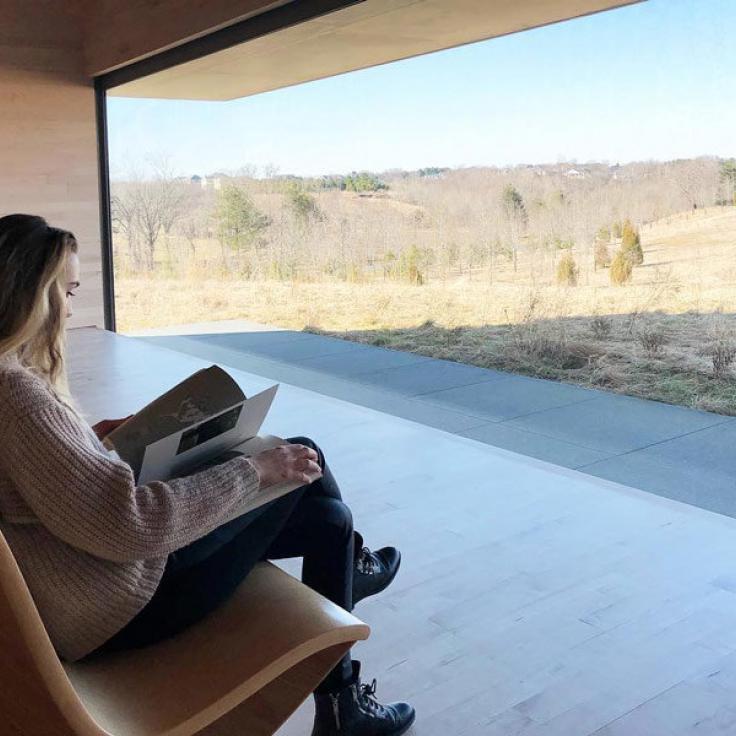 @katya_krupko - Besucher im Glenstone Museum in Maryland - Coole Museen in und um Washington, DC