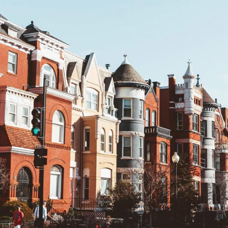 @lostboymemoirs - Rowhouses in Adams Morgan - Neighborhoods in Washington, DC