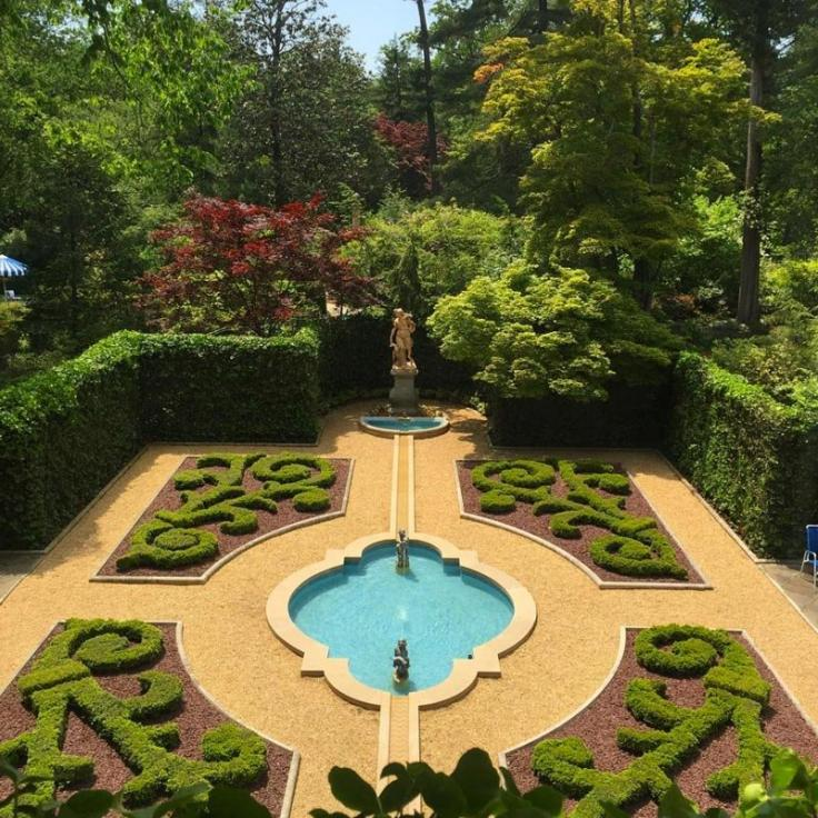 @markeisenhower - Courtyard at Hillwood Museum, Estate and Gardens in Upper Northwest - Things to Do in Washington, DC