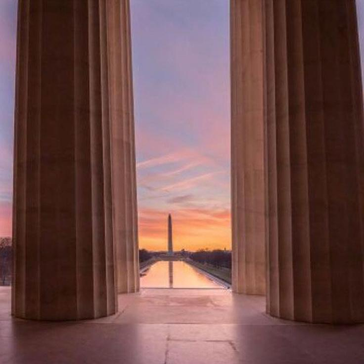 @michaeldphotos - Sonnenaufgang am Lincoln Memorial - Gedenkstätten in Washington, DC
