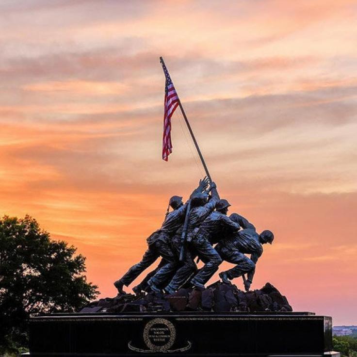 @michaeldphotos - Sonnenuntergang am Marine Corps Memorial