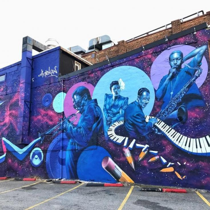 @shanikahopson - Mural de la calle U Street en Washington, DC