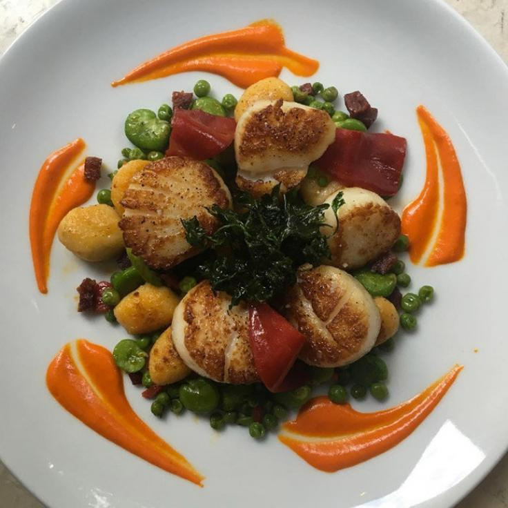 @sofiteldc - Scallops at Ici Urban Bistro - Dining in Washington, DC